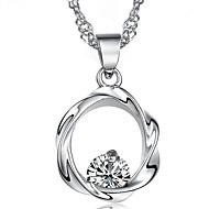 925 Silver Plum Flower Pendant