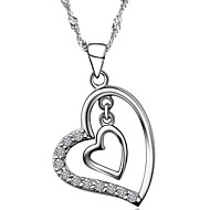 925 Silver Love Heart Pendant