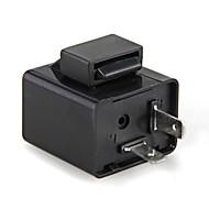 2PCS richtingaanwijzer flasher knipperlicht relais 12v 2 pin motorfiets geleid indicatielampje