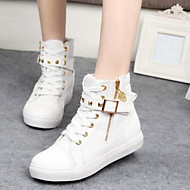 Women's Shoes Comfort  Round Toe Low Heel Canvas Fashion Sneakers Shoes More Colors available