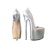 Women's Shoes 25cm Heel Height Sexy Round Toe Stiletto Heel Pumps Party Shoes More Colors available