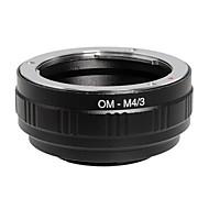 poplar® אום-M4 / 3 עדשות אולימפוס Panasonic / אולימפוס M4 / 3 טבעת מתאם מצלמה (שחור)