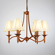 40W Modern/Contemporary / Traditional/Classic / Rustic/Lodge / Vintage / Country Antique Brass Metal Pendant LightsLiving Room / Bedroom