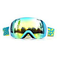 basto sabbia telaio verde sensori giallo occhiali da neve sci