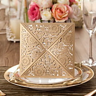Gorgeous Flora Design Wedding Invitation-Set Of 50(More Colors)