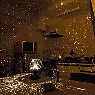 decoração do casamento diy galáxia céu estrelado romântico projector de luz noite (2xAA / usb)