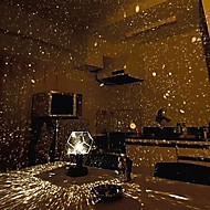 bryllup dekor diy romantisk galaxy stjernehimmelen projektor nattlys (2xAA / usb)