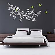 adesivos de parede decalques da parede, parede de pvc ramo de árvore modernos etiquetas.