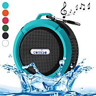 C6 Mini Portable IPX5 Waterproof Bathroom Hang Hook Wireless Bluetooth Speaker Supports Handsfree Functions