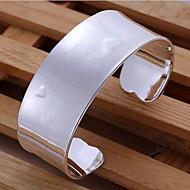 Men's Cuff Bracelet Silver