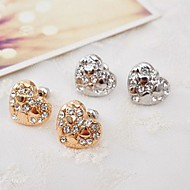 Stud Earrings Women's Alloy Earring Rhinestone