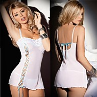 Cosplay Costumes Uniforms Festival/Holiday Halloween Costumes White Solid Leotard/Onesie / T-Back Female