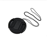 77mm Center Release Lens Cap Holder Leash Strap  +Cleaning Cloth