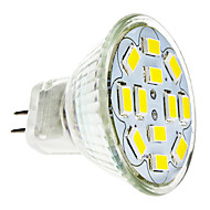 6W GU4(MR11) LED Spotlight 12 SMD 5730 570 lm Warm White / Cool White DC 12 V