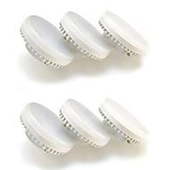 6 pcs Everbrite GX53 7 W 16 SMD 2835 580 LM Natural White Recessed Retrofit Decorative Spot Lights AC 100-240 V