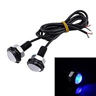 3w 110lm 빛 독수리 눈 파란 차 장식을 주도 / 백업 램프 (2 개 / 12V)