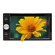 Rungrace 6.2 Inch Universal 2 Din In-Dash Car DVD Player with BT,RDS,Touch Screen,ATV, RL-263DNAR03