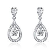 Women's Silver/Cubic Zirconia Earring Cubic Zirconia