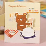 Takkekort Bryllupsinvitasjoner Side Fold Ikke-personalisert