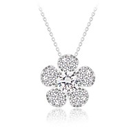 Women's Cubic Zirconia Necklace Party/Daily