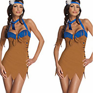 Cosplay Costumes More Costumes Festival/Holiday Halloween Costumes Dress / Headpiece / Headwear Halloween / Carnival Female Lycra