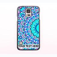 εξατομικευμένη περίπτωση του τηλεφώνου - φάλαινα σχεδιασμό μεταλλική θήκη για το Samsung Galaxy S5