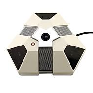cotier 360 graders fish-eye 1.3MP ip kamera med 1,280 x 960 pixel digital upplösning