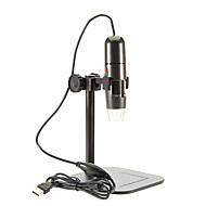 justerbar 8 førte 1000x usb digital mikroskop endoskop lup otoskop lup med stativ