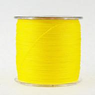 500M / 550 יארד PE  / Dyneema חוט קלוע חוט דיג צהוב 10LB / 12LB / 15LB / 18LB / 20LB / 25LB / 30LB 0.1,0.12,0.14,0.16,0.2,0.23,0.26 mm ל