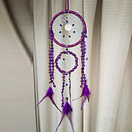 Purple Double Rings Dream Catcher