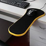 mouse pad escritorio silla de la computadora apoyabrazos muñeca descansar paletas de ratones sanos (color al azar)