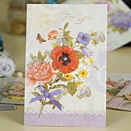 Wedding Invitation Non-personalized Floral Style Thank You Cards