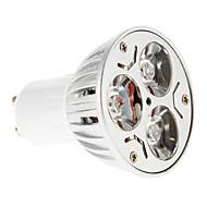 6W GU10 Lâmpadas de Foco de LED 3 15-20/30-35 lm Vermelho / Azul AC 85-265 V 1 pç