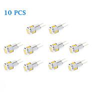 3W G4 LED bodovky 6 SMD 5730 220 lm Teplá bílá / Chladná bílá AC 12 V 10 ks