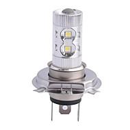 אור ערפל/מנורת ראש מכונית 6000K H4