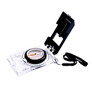 Outdoor Camping Multifunction Acrylic Compass With Map Ruler Scale Mirror