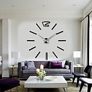 2015 νέα διακόσμηση του σπιτιού μεγάλο ρολόι τοίχου ψηφιακή μοντέρνο σχεδιασμό μεγάλα διακοσμητικά ρολόγια τοίχου ρολόι τοίχου ώρες μοναδικό δώρο
