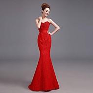Formal Evening Dress A-line Sweetheart Floor-length Satin Dress
