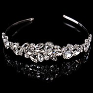 Luxurious Bridal Crown Silver Tiara Queen Flower Crystal/Rhinestone/Diamond Hairclips Headpiece For Wedding/Party