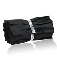 Women Silk / Satin Event/Party Evening Bag White / Red / Gray / Black