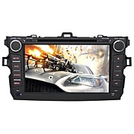 "Car DVD Player Android4.4 2 Din 8"" for Toyota Corolla 2008-2011 GPS/RDS/SWC/SUB/WiFi"
