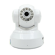 Besteye 1.0 MP PTZ Indoor with Day Night IR-cut 64GB(Day Night Motion Detection Dual Stream Remote Access IR-cut Wi-Fi Protected Setup