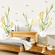 Environmental Lily Shaped Living Room/ Bedroom Wall Sticker