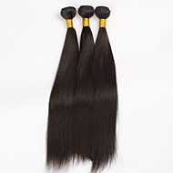 Brazilian Virgin Hair Natural colour 3Pcs 28Inch Straight Hair Weaving 100% Human Hair