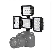 4 * 48H-LED Video Light Photography for Canon 7D 6D 5DIII Nikon D600 D800 D3100 D7000 DSLR Camera Lights DV