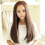 моделирование длинные прямые волосы щеткой высокотемпературной проволоки половину головой Wir