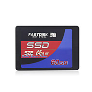 "FASTDISK SZE60GB 60GB 2.5"" Solid State Disk (SSD) Internal Hard Drive SATA III for Laptop"