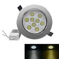 jiawen® 9W 810-900lm 3000-3200k / 6000-6500k אור לבן חם / לבן הוביל אורות receseed (AC 100-240V)