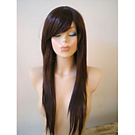 20inch Natural Straight Brazilian Virgin Hair Natural Color Full Lace Wig