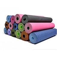 Mats Yoga 183*61*0.6cm Non slittamento / Non Toxic 6 Verde / Viola